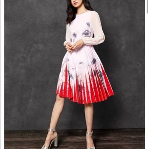 Ted Barker Lake of Dreams pleated dress.